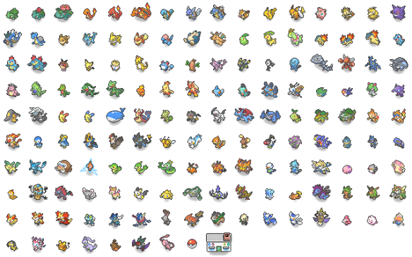 Pokemon X Google Earth, Pixart