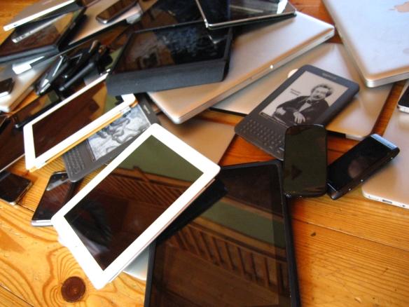 Device pile