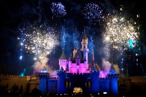 Hong Kong Disney Firework