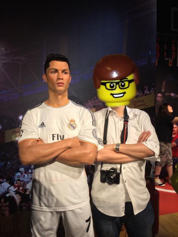 蠟像館的新藏品:Cristiano Ronaldo