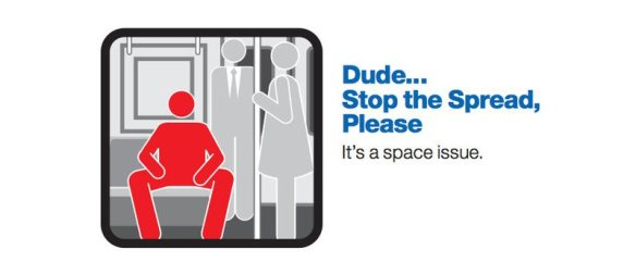 """Mta etiquette space"" by Source (WP:NFCC#4). Licensed under Fair use via Wikipedia - https://en.wikipedia.org/wiki/File:Mta_etiquette_space.jpg#/media/File:Mta_etiquette_space.jpg"