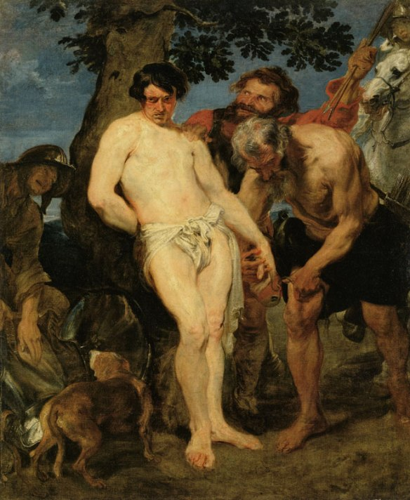 anthony_van_dyck_saint_sebastian_martyrdom